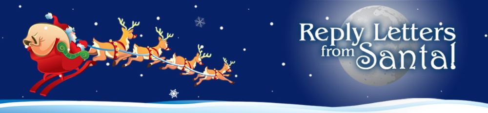 Reply Letters From Santa for children